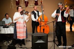 Ľudová hudba Bystrianka v akcii